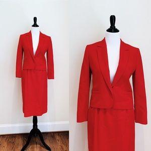💸LAST CHANCE 💸 Vintage Cherry Red Pendleton Suit